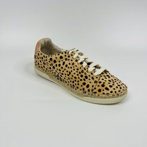 Dolce Via Womens Sneakers Size 9.5 Leopard Calf Hair Madox NEW